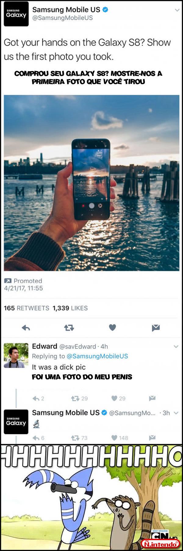 Samsung Respondendo a Altura