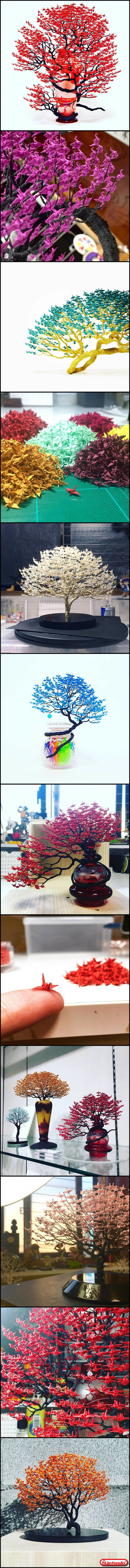Bonsai De Origamis